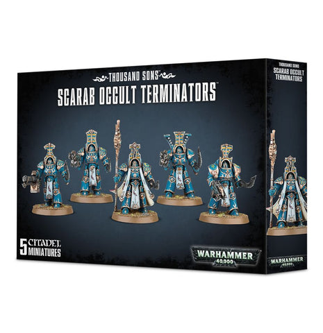 Games Workshop - Thousand Sons: Scarab Occult Terminators