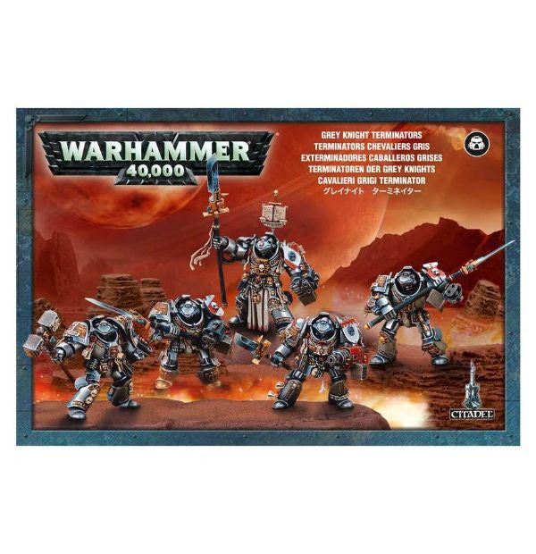 Games Workshop - Grey Knights Paladin Squad