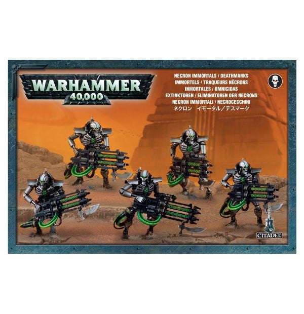 Games Workshop - Necron Immortals/Deathmarks