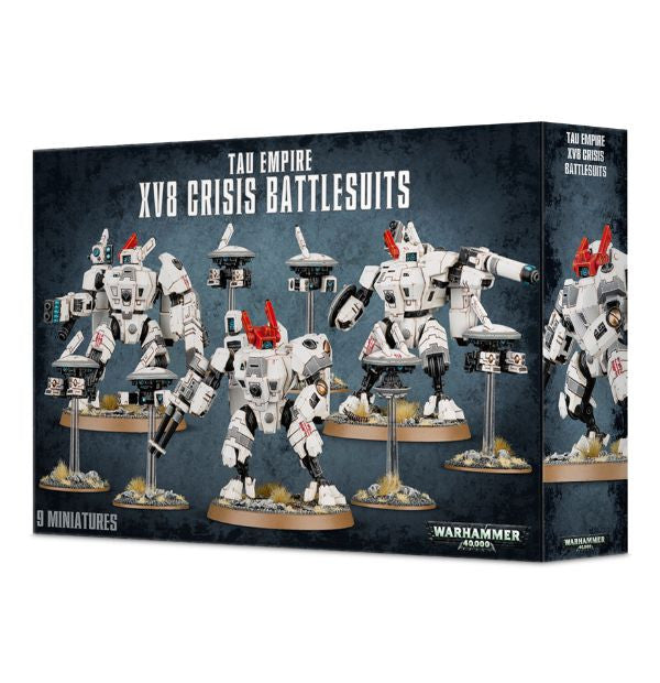 Games Workshop - Tau Empire XV8 Crisis Battlesuits