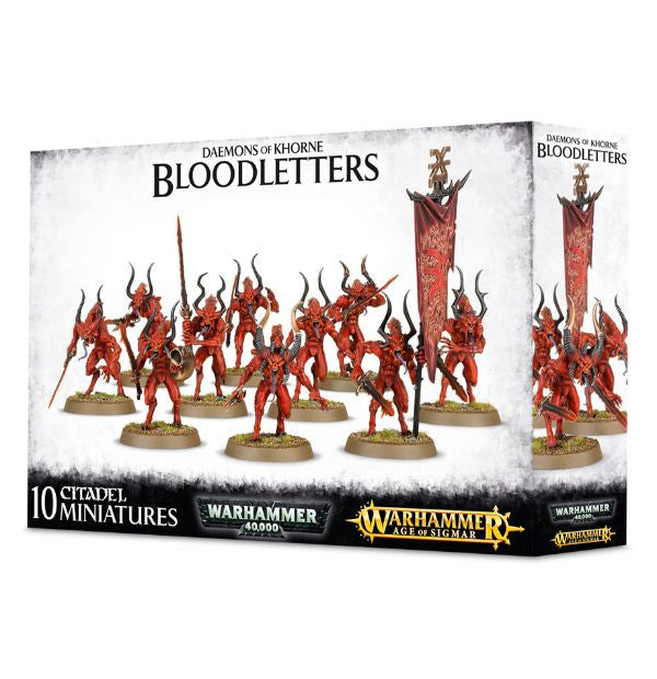 Games Workshop - Daemons Of Khorne Bloodletters