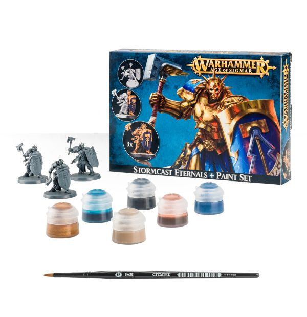 Games Workshop - Stormcast Eternals + Paint Set