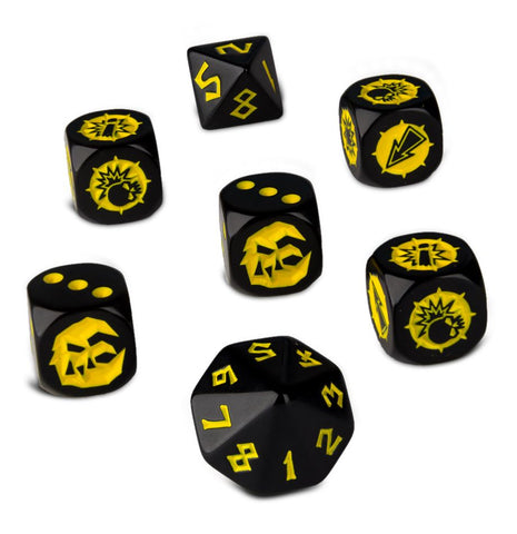 Games Workshop - Blood Bowl: Goblin Team Dice Set
