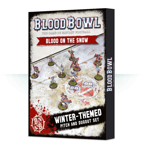 Games Workshop - Blood Bowl - Blood on the Snow Pitch
