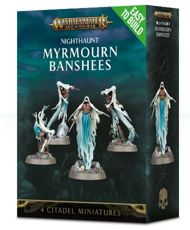 Games Workshop - Easy to Build: Myrmourn Banshees
