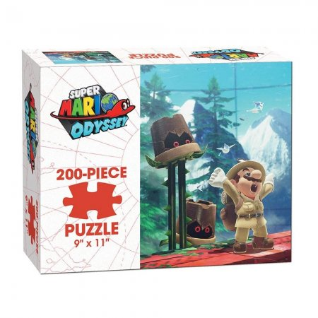 Puzzle - USAopoly - Mario Odyssey - Wooded Kingdom (200 Pieces)