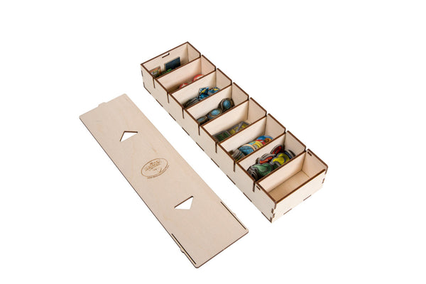 Broken Token - Long Bits Box for Sleeved Card Game Organizer