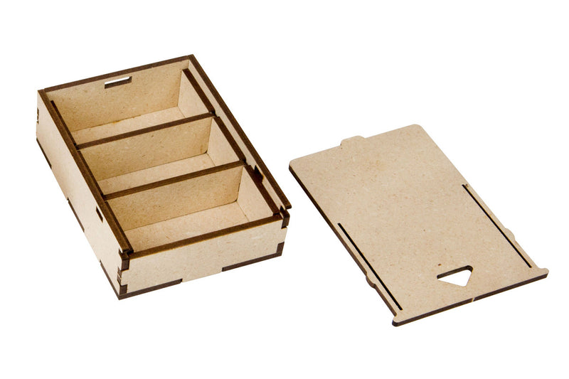 Broken Token - Card Size Bit Box For CCG Expansion Organizer