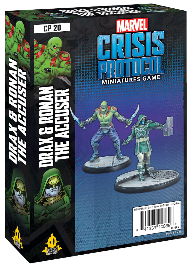 Marvel: Crisis Protocol - Drax and Ronan the Accuser