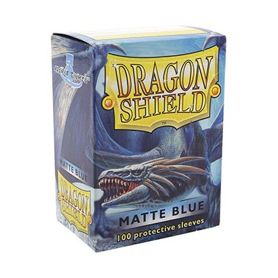 Dragon Shield - Matte Blue