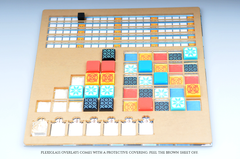 Meeple Realty -  A-Z Overlays (Compatible with Azul)