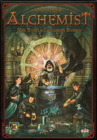 Alchemist - Fire Burn and Cauldron Bubble