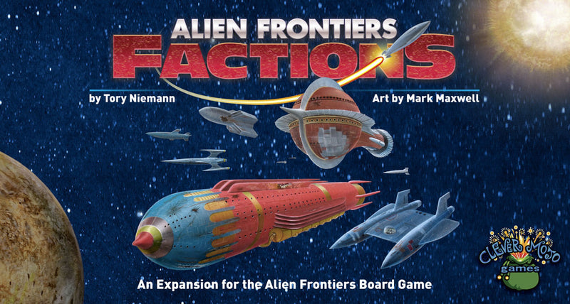 Alien Frontiers: Factions (1st Edition)