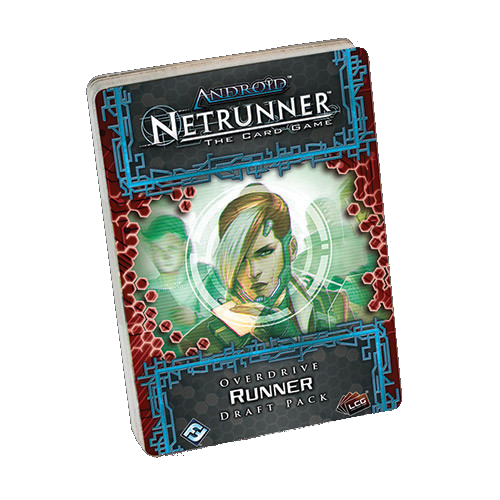 Android: Netrunner - Overdrive Runner Draft Pack