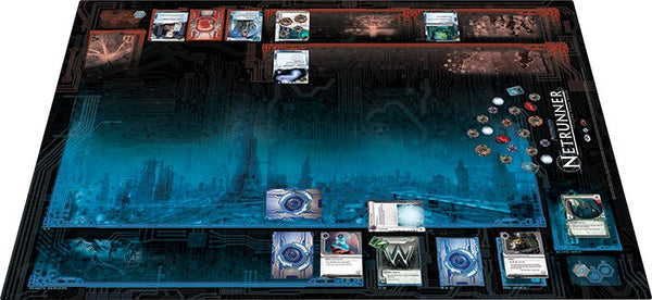 Android Netrunner:  LCG System Breach Playmat