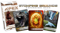 Apex Theropod Deck-Building Game: Stomping Grounds Expansion Deck