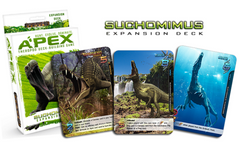 Apex Theropod Deck-Building Game: Suchomimus Expansion Deck