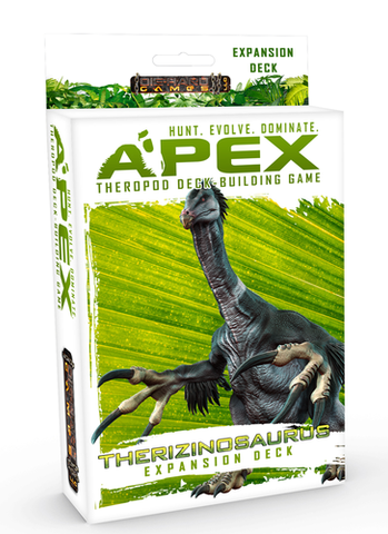 Apex Theropod Deck-Building Game: Therizinosaurus Expansion Deck