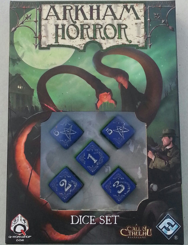 Arkham Horror: Dice Set (Blessed Edition)
