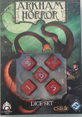 Arkham Horror: Dice Set (Cursed Edition)