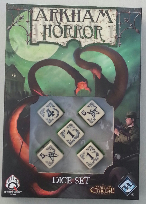 Arkham Horror: Dice Set (Bone Edition)