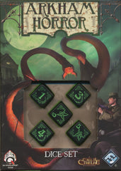 Arkham Horror: Dice Set (Green Edition)