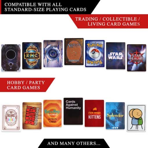 Quiver Deck Protector Matte Card Sleeves Quiver Time