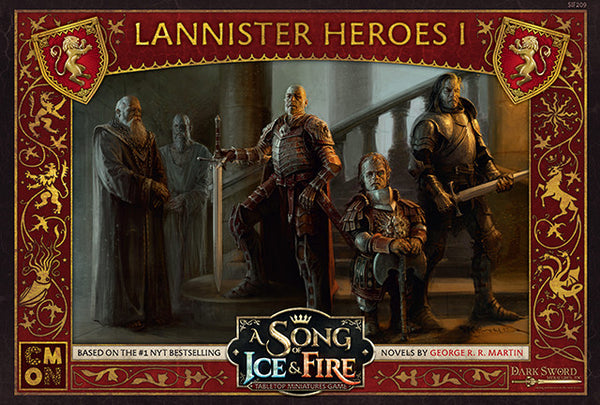 A Song of Ice & Fire: Tabletop Miniatures Game - Lannister Heroes I
