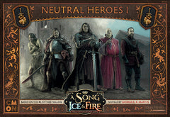 A Song of Ice & Fire: Tabletop Miniatures Game - Neutral Heroes I