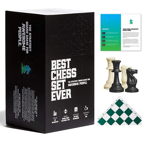 Best Chess Set Ever (Standard Green) *PRE-ORDER*