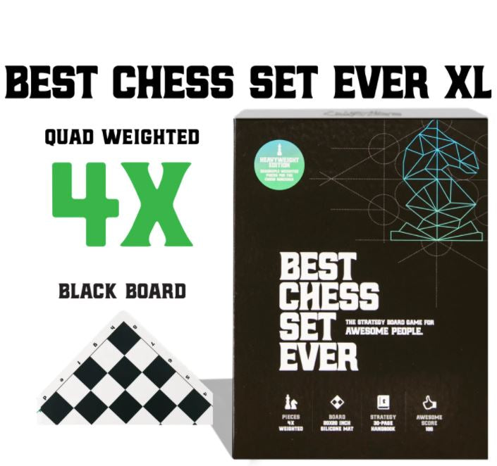 Best Chess Set Ever (XL Black) *PRE-ORDER*