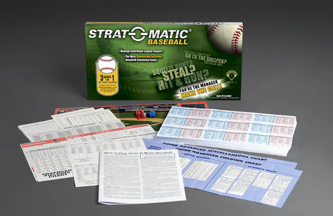 Strat-O-Matic - Baseball Current Edition Game