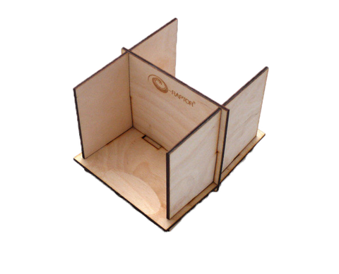 Board Game Card Holders: Card Holder Wooden - 2L DIY