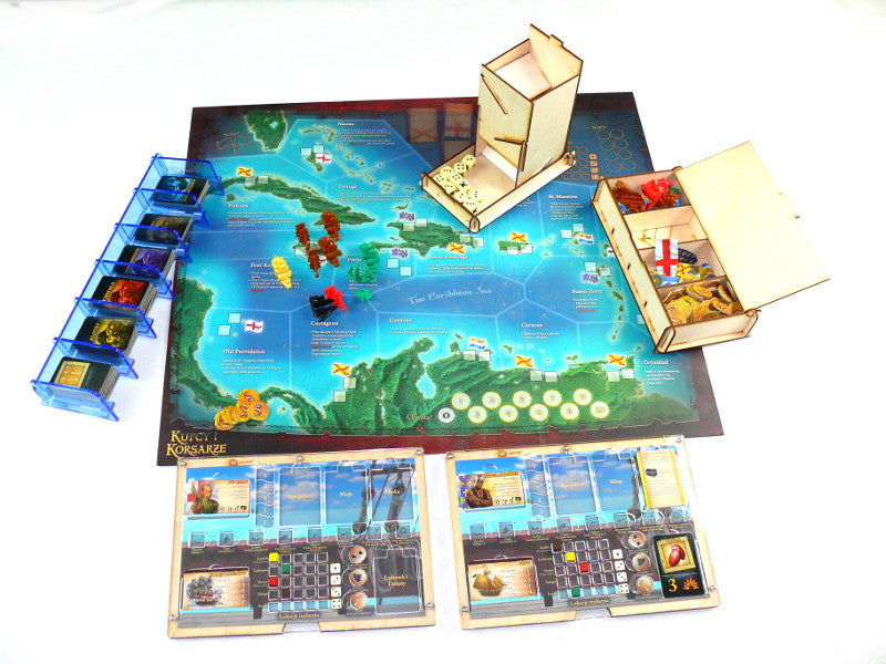 Board Game Organizers: Organizer - Merchants und Maraude