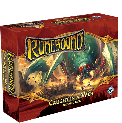 Runebound (Third Edition) – Caught in a Web (Scenario Pack)