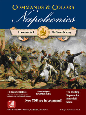 Commands & Colors: Napoleonics Expansion #1 – The Spanish Army *PRE-ORDER* (ETA Nov 2018)
