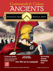 Commands & Colors: Ancients Expansion Pack #6 – The Spartan Army