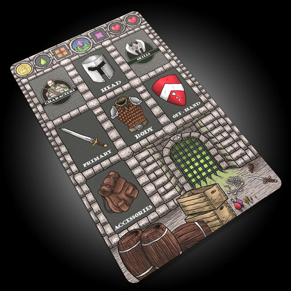 Iron Helm - Player's Mat
