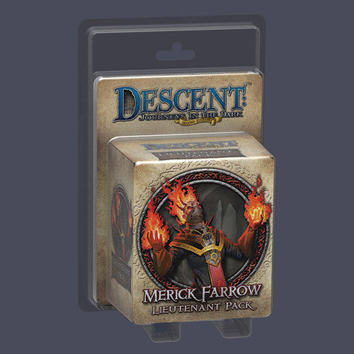 Descent: Journeys in the Dark (Second Edition) - Merick Farrow Lieutenant Pack