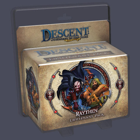 Descent: Journeys in the Dark (Second Edition) – Raythen Lieutenant Pack