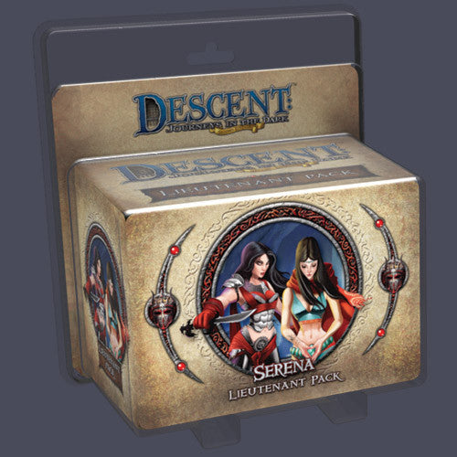Descent: Journeys in the Dark (Second Edition) - Serena Lieutenant Pack