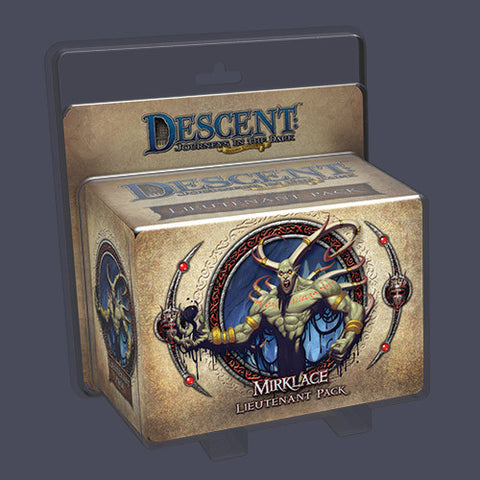 Descent: Journeys in the Dark (Second Edition) – Gargan Mirklace Lieutenant Pack