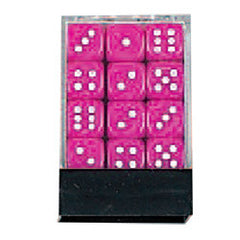 DLX Opaque Dice: 36pc 12mm (Pink)