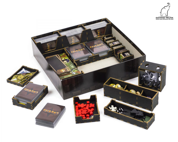 Gaming Trunk - Clang Organizer for Clank! (v2) (Black)
