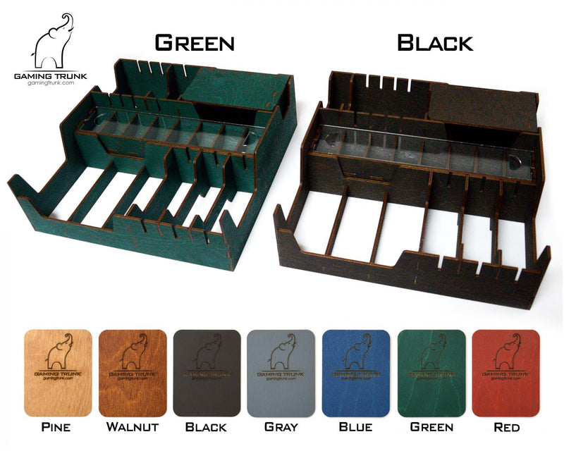 Gaming Trunk - Horror House Organizer for Betrayal at House on the Hill (Black)