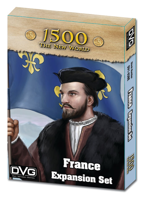 1500: The New World - France Expansion