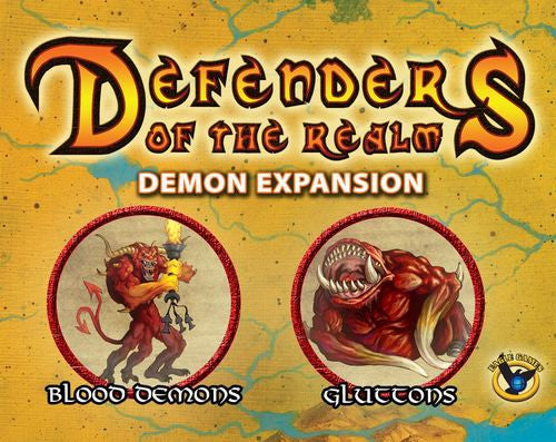 Defenders of the Realm: Minions Expansion - Demons (Includes Miniature) (Unpainted)