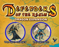 Defenders of the Realm: Minions Expansion - Dragonkin (Unpainted)