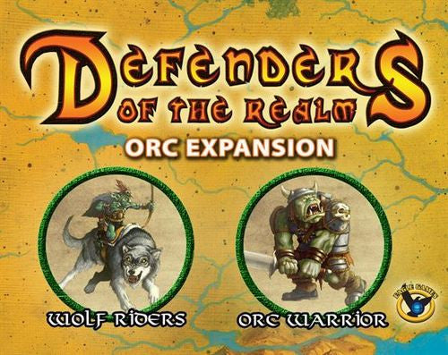 Defenders of the Realm: Minions Expansion - Orcs (Includes Miniature) (Unpainted)