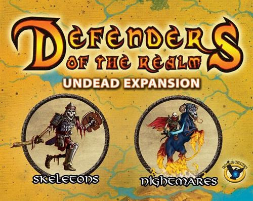Defenders of the Realm: Minions Expansion - Undead (Includes Miniature) (Unpainted)